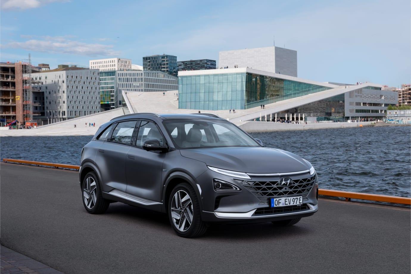 Hyundai NEXO elbil med vätgasdrift