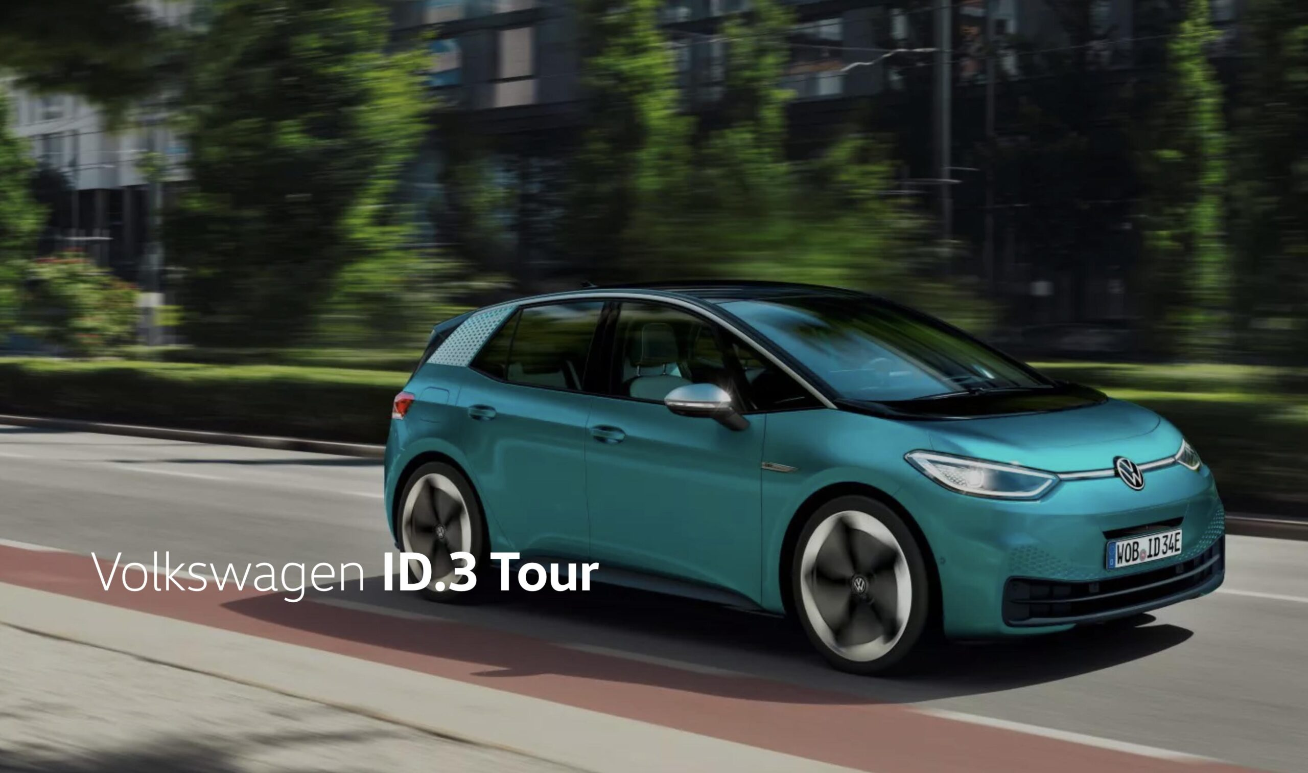 Volkswagen ID.3 tour I Sverige