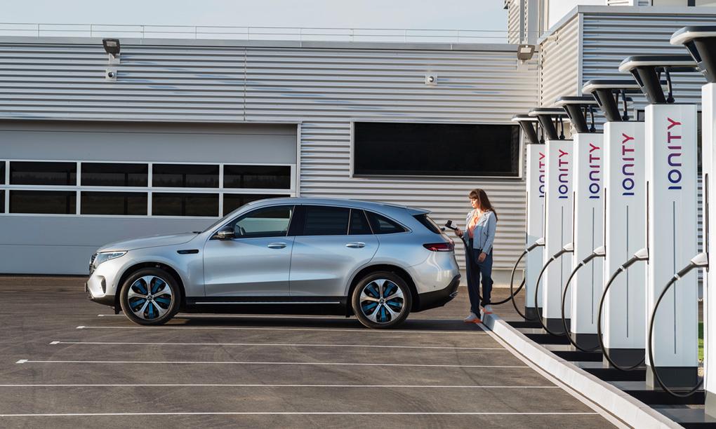 Ladda med Ionity kan bli dyrare än att tanka diesel