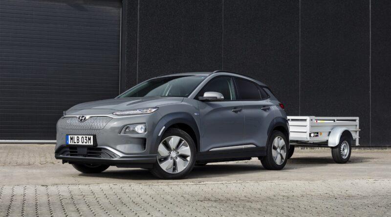 Hyundai Kona Electric får dragkrok och längre räckvidd