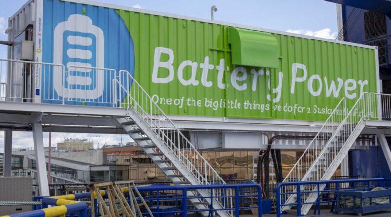 Powerbank på kajen – nästa steg för elektrifiering av sjöfarten