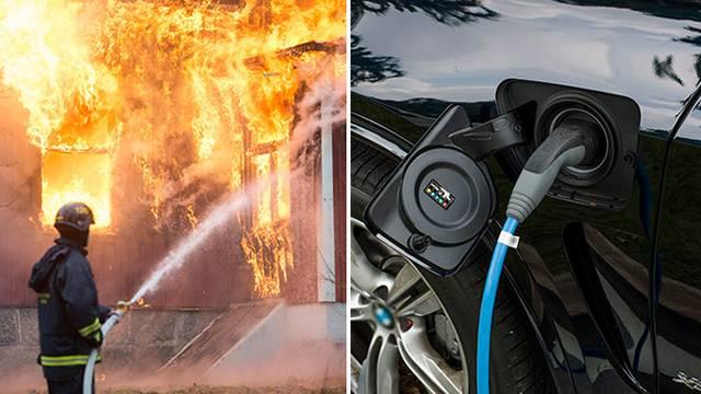 Försäkringsbolag: Kräv brandceller vid elbilsparkeringar