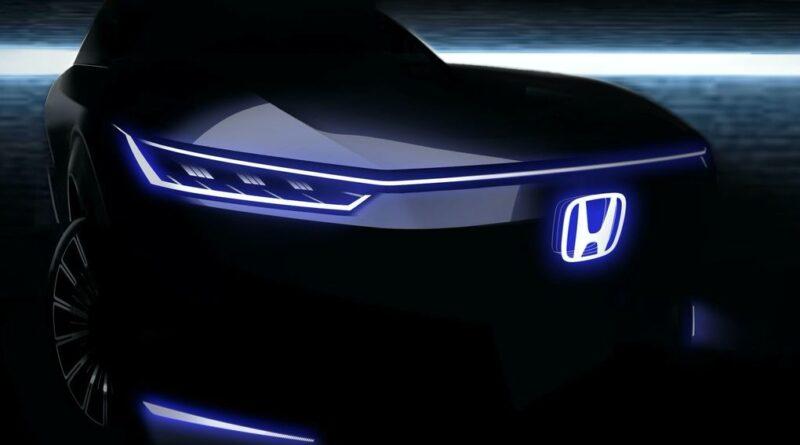 Första bilden på Hondas nya el-koncept – ska visas på Beijing Motor Show