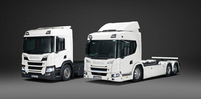 Scania lanserar det första produktutbudet av el-lastbilar