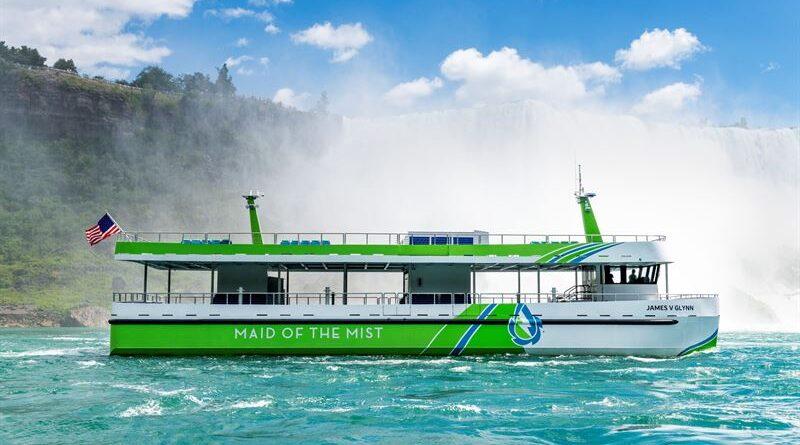 Nya helt eldrivna passagerarfartyg med teknik från ABB tas i trafik vid Niagarafallen