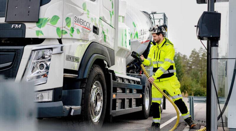 Swerock satsar på eldrivna transporter