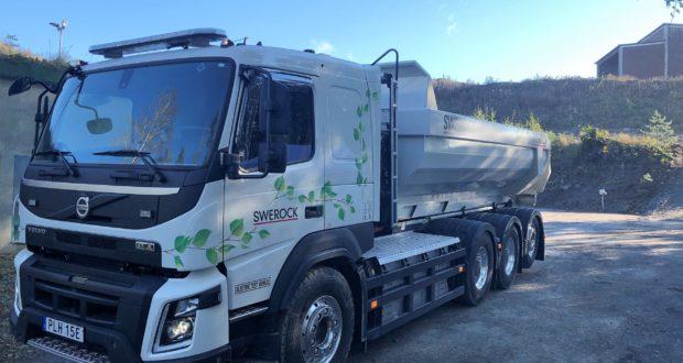 Miljövänlig eldriven Volvo FMX med JOAB EcoDrive