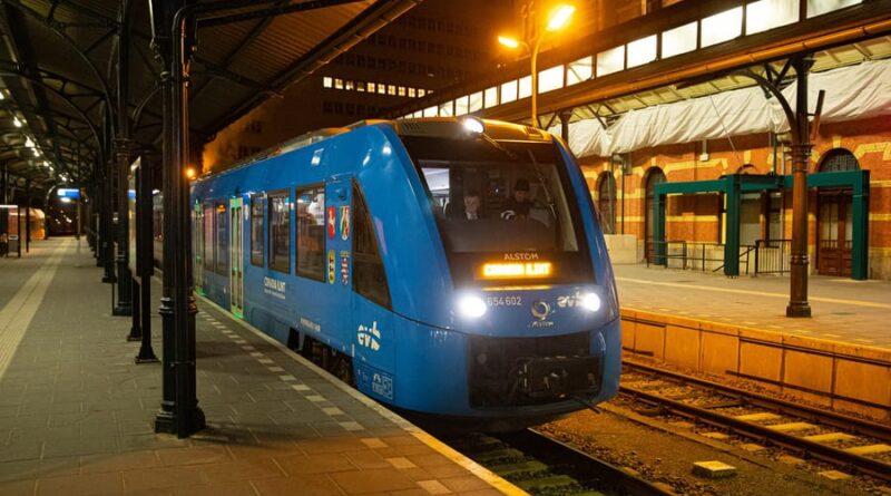 Provkörningar av Alstoms vätgaståg i Nederländerna officiellt bedömda som framgångsrika