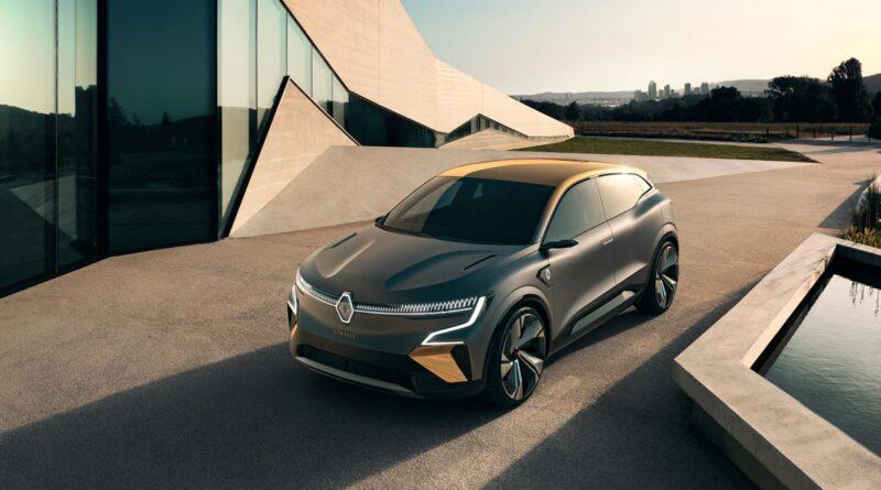 Här är en första titt på Renaults nya elsuv: Elbilen Renault Megane