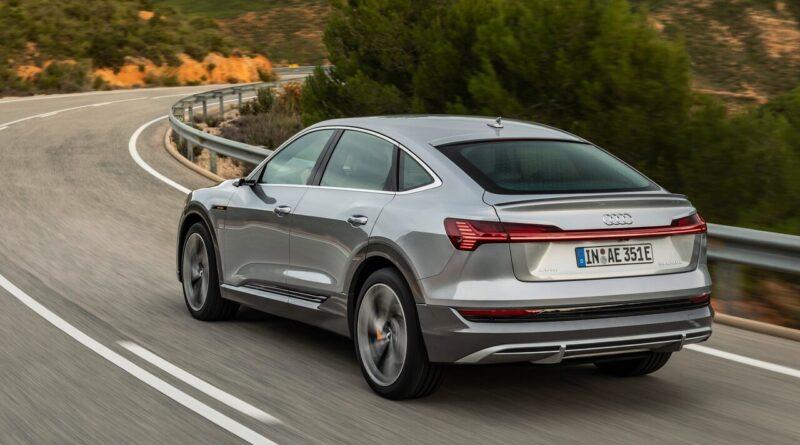 Audi e-tron uppdateras för snabbare laddning
