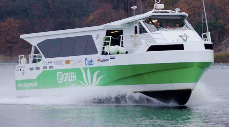 Echandia Marine – världsledande på att bygga eldrivna fartyg