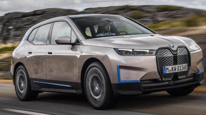 här är bmw ix - ny elbil med fokus på förbrukning och