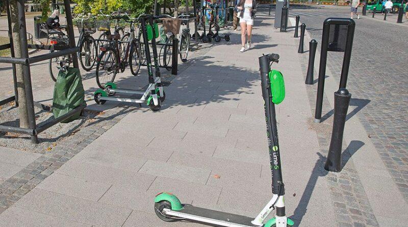 Olyckor med elsparkcyklar ökar kraftigt