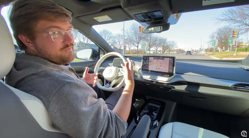 Video: Häng med på en åktur med första intryck av nya Volkswagen ID.4