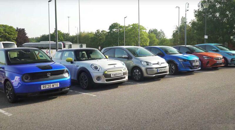 Sex små elbilar i räckviddstest – från hundra till noll procent i batteriet