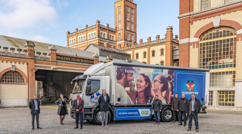 Renault Trucks och Carlsberg tillsammans mot koldioxidneutral distribution