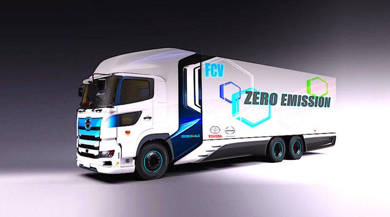 Vätgasdrivna tunga fordon kan ge ett betydande bidrag till klimatmålen