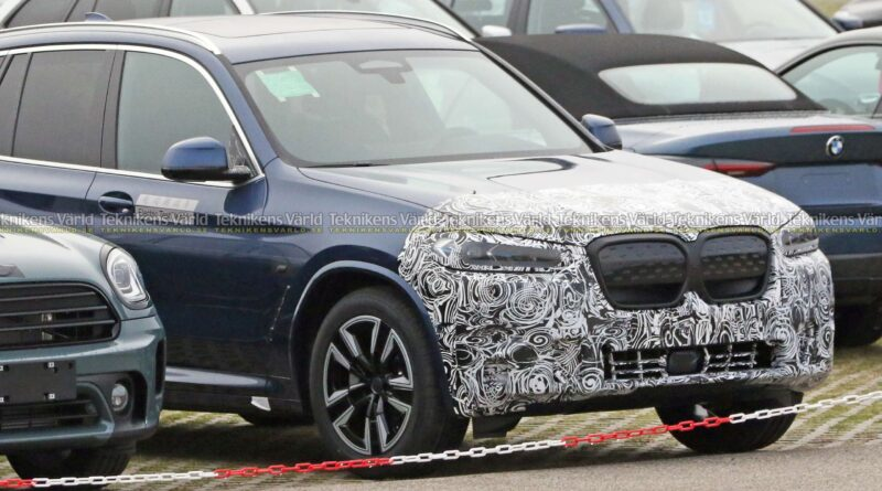 BMW iX3 uppdateras redan