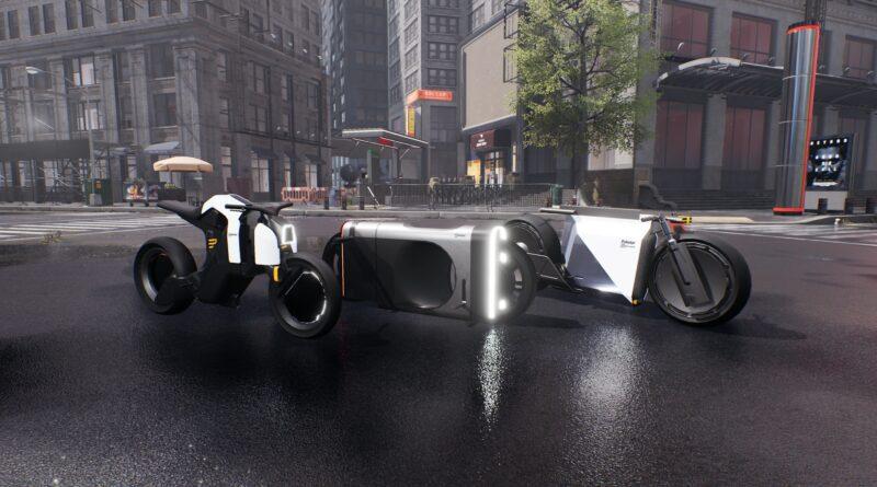Polestar smygvisar 7 galna framtidsfordon i Balenciagas virtuella modeshow