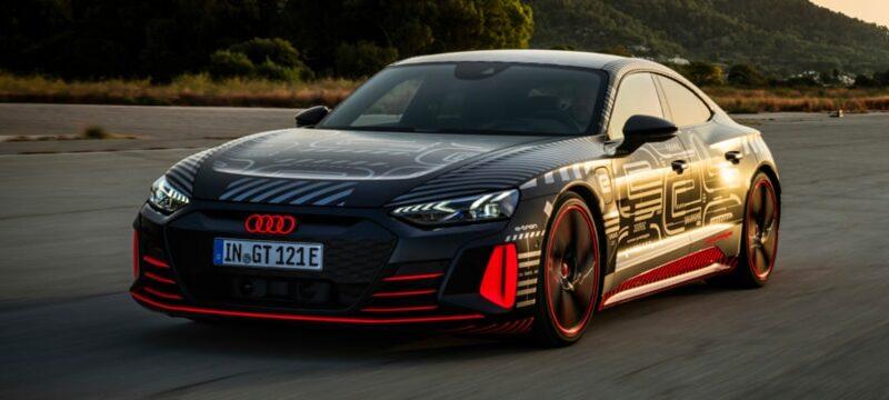 Nu går Audi RS e-tron GT att förhandsboka i Sverige