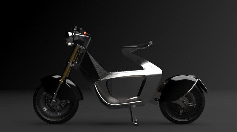 Ny elscooter tillverkad med robotiserad origami