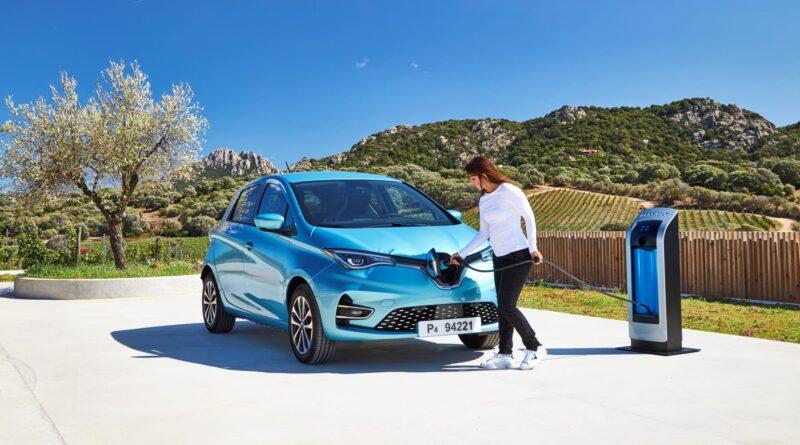 Renault ZOE får högsta betyg som renaste elbilen