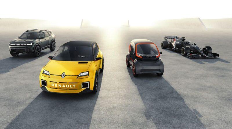 Ny 5-årsplan: 14 nya bilmodeller från Renault, Alpine och Dacia