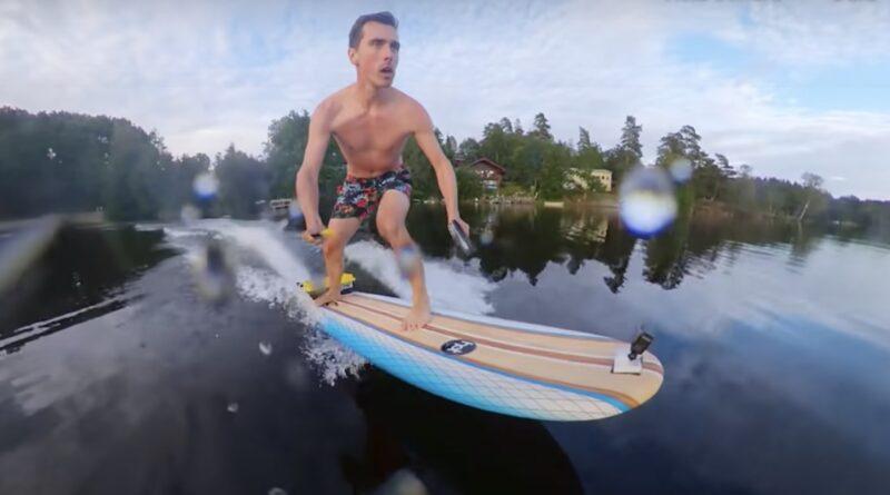 Bygg din egen eldrivna surfingbräda!