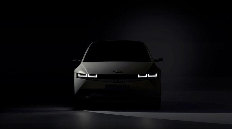 Första bilderna på nya elbilen Ioniq 5 från Hyundai är här