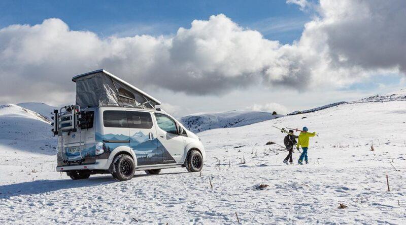 Nissan e-NV200 Winter Camper ett eldrivet hem för vinterexpeditioner