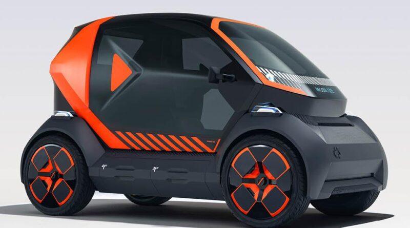 Renault EZ-1 är en modernare Twizy med utbytbart batteri