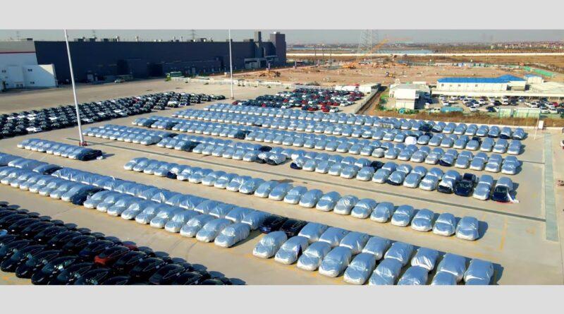 Tesla i Kina har startat tillverkningen av Tesla Model Y