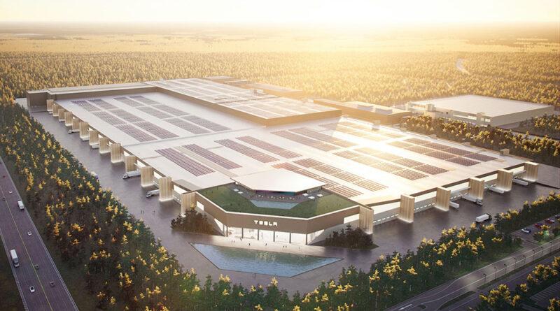 Fortsatt högt tempo vid Teslas Gigafactory Berlin