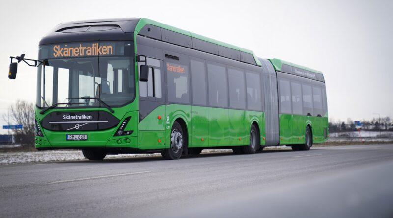 Malmö får elva nya elbussar idag